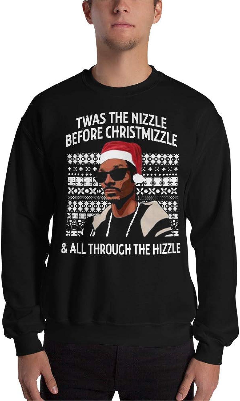 0f94380cb2 TWAS The Nizzle Nizzle Nizzle Before Christmizzle Sweatshirt Ugly Christmas  Sweater Unisex 407493