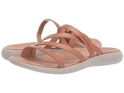Merrell Duskair Seaway Slide Leather (Natural Tan) Women