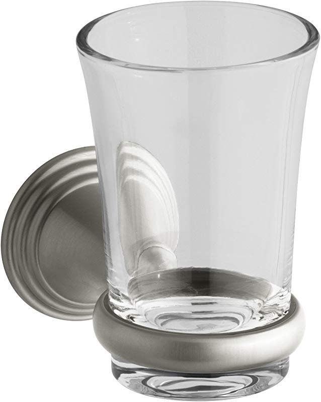 KOHLER K 10561 BN Devonshire Tumbler And Holder Vibrant Brushed Nickel