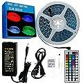 LED Strip Light, Lahoku 5050 SMD RGB Multi-color Changing Tape Light for Kitchen, Cabinet, Bedroom, Home Decoration