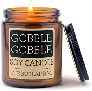 The Burlap Bag 9oz Soy Fall Candles (Gobble Gobble)