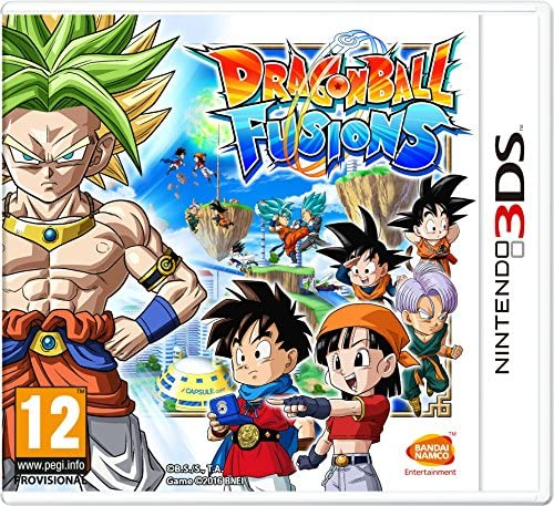 Dragonball Fusions Nintendo 3DS product image