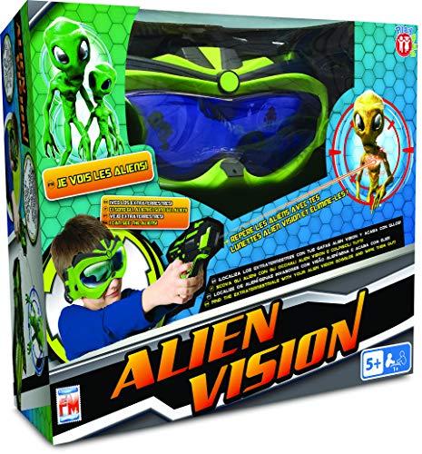 PLAY FUN BY IMC TOYS Alien Vision - Elimina los alientos con la máscara 3D y la pistola - Juego para niños mayores de 5 años