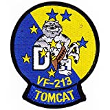 VF-213 Fighter Squadron F-14D Tomcat Patch
