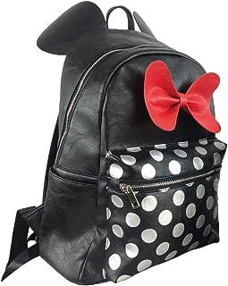 Moda Minnie - Mochila Casual, 41 cm, Negro