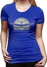 WillardSCox Women's Goldwing-Retro Casual Tees Cool Short Sleeve