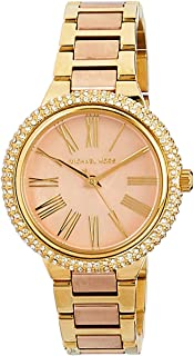 Michael Kors Women's Quartz Watch analog Display and Stainless Steel Strap, MK6564I