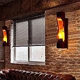 GBX Wandleuchten, Retro Wandleuchte Bambus Künstlerische Kreative Wandleuchten E14 Kappe Led-Beleuchtung Für Festival Bar Schlafzimmer Wohnzimmer Lesen Wandleuchte 20 Watt