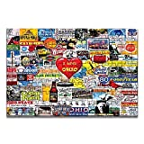 I Love Ohio 1000 Piece Jigsaw Puzzle for Adults Fun Indoor Activity Educational Intellectual Fun Family Game