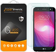 (2 Pack) Supershieldz for LG Fiesta LTE and LG Fiesta 2 Tempered Glass Screen Protector, 0.33mm, Anti Scratch, Bubble Free