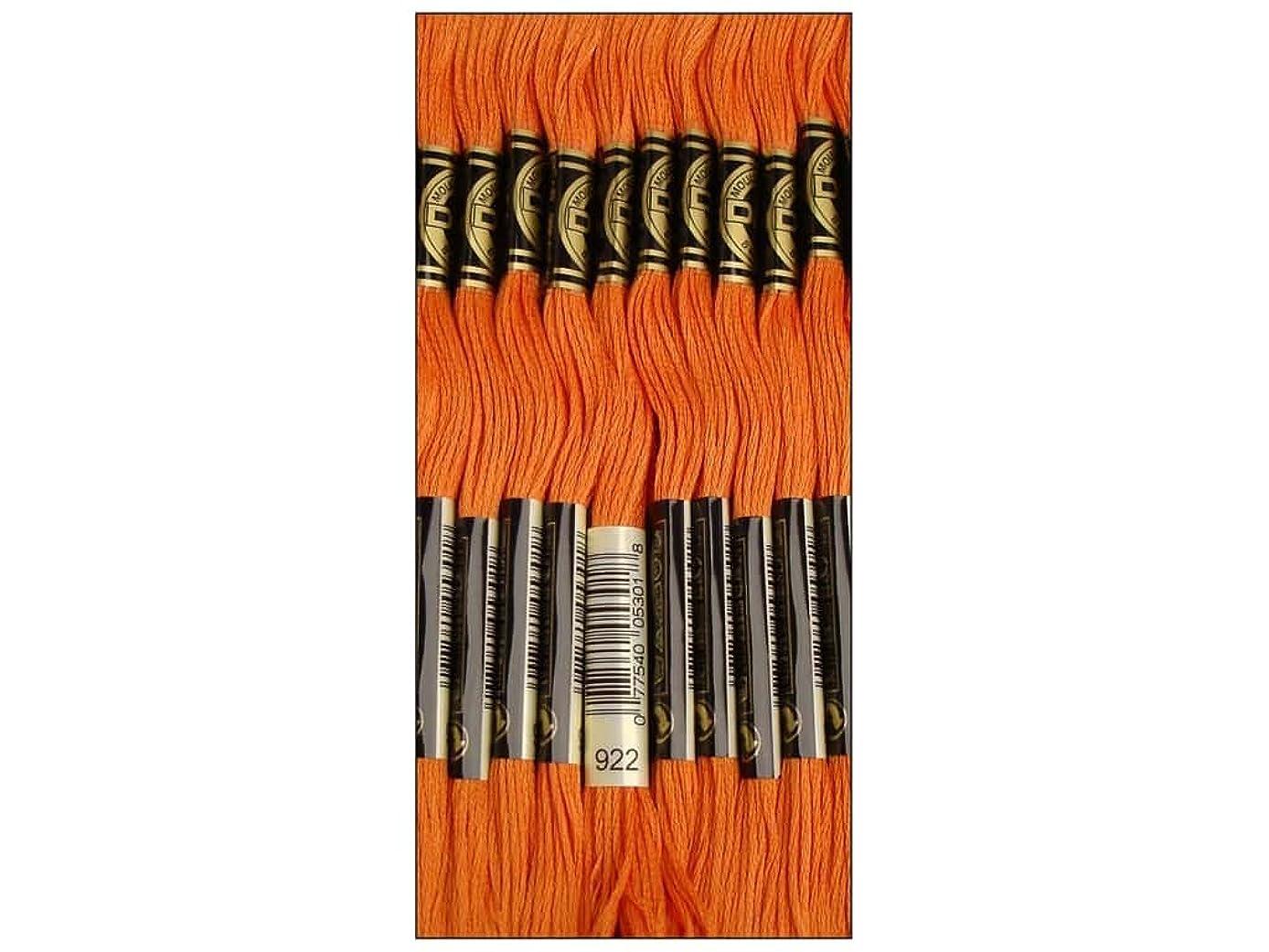 Bulk Buy: DMC Thread Six Strand Embroidery Cotton 8.7 Yards Light Copper 117-922 (12-Pack)