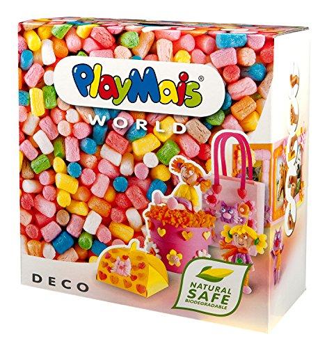 PlayMais World Bastel-Set für Kinder ab 3 Jahren | Circa 1000 PlayMais, Vorlagen & Anleitungen zum Basteln | Geschenke für Kinder | Fördert Kreativität & Feinmotorik | Natürliches Spielzeug (Deco)