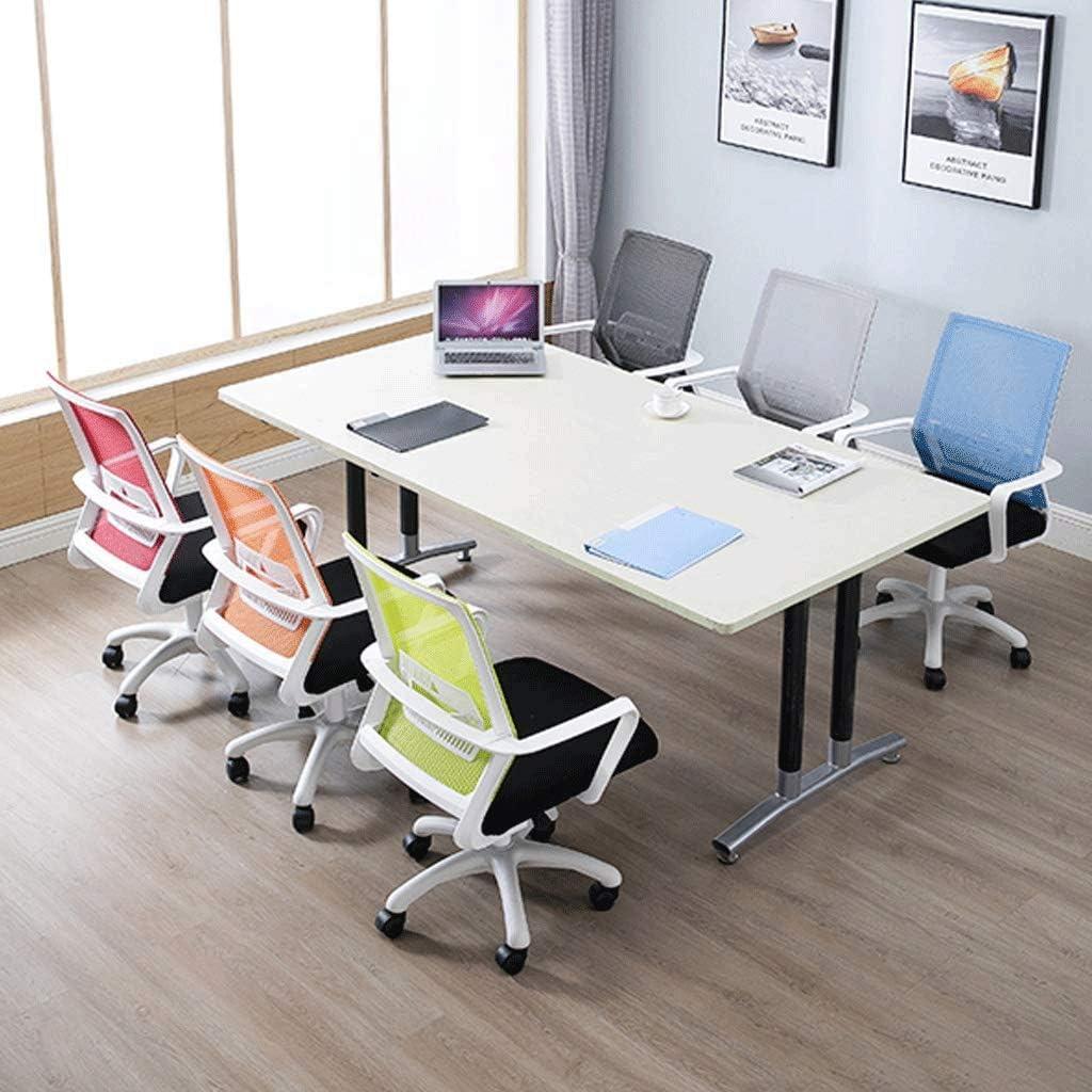 Chaise de bureau, chaise de bureau Mesh, Bureau d'ordinateur réglable en hauteur, Design ergonomique, haute capacité portante (option multi-couleurs) (Color : Blue) Green