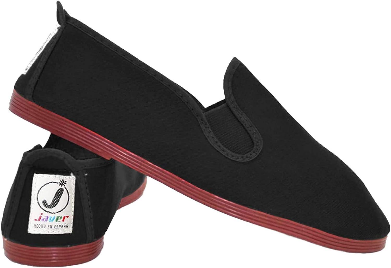 Ladies Javer Flossy Style Slip On Plimsoles MODELO 55 | TALLA 39 UK 6
