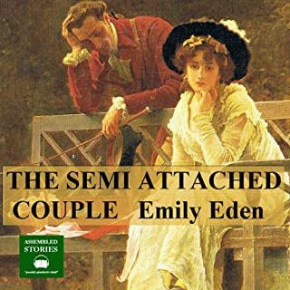 The Semi - Attached Couple audiobook cover art