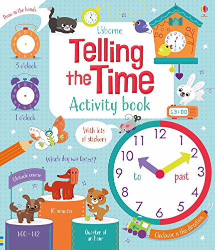 Bryan, L: Telling the Time Activity Book (Maths Activity Books)