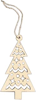 Design Ideas Wooden Nordic Christmas Tree Ornament 2.5