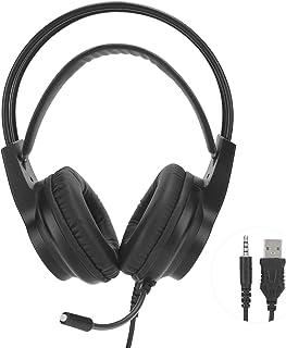 Socobeta Spelhörlurar högpresterande USB H200 headset för spelmusik