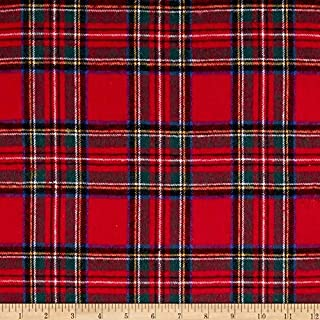 christmas plaid fabric by the yard