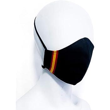 Mascarilla homologada protectora negra bandera de España producto ...