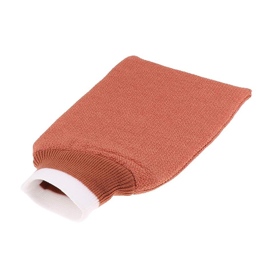 交通ポインタいたずらgazechimp バスグローブ 浴用手袋 シャワー用 バスミット 垢すり手袋 毛穴清潔 角質除去 男女兼用 全3色 - シャンパン