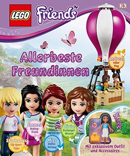 LEGO® Friends Allerbeste Freundinnen: Die Freundinnen: Mia, Olivia, Stephanie, Emma und Andrea