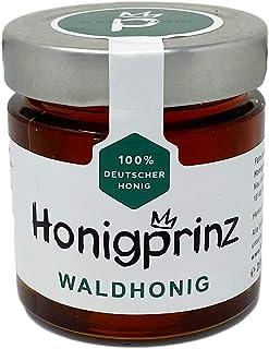 Honig Waldhonig 100% Deutscher Honig 1 x 250 Gramm Wald Honig natürlicher Honiggenuss, Honigprinz Familien - Imkerei