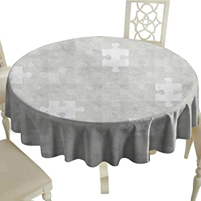 "with Flannel Backing Vibrant Colors Elasticized Tablecloth Great for Indoor and Outdoor Dining and Playing Cards 60/"" Sand FITTED-SAN-60-YT Yourtablecloth Heavy Duty Vinyl Round Fitted Tablecloth Table Cover"