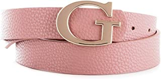 Luxury Fashion | Guess Womens BW7254VIN30PINK Pink Belt | Fall Winter 19