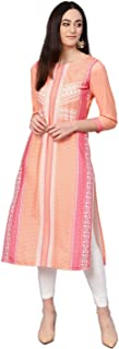 Vaamsi Women's Polyester a-line Kurta