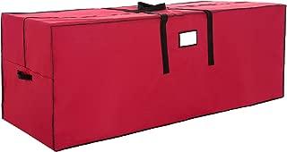 VALORCASA Christmas Tree Storage Bag,Heavy Duty 600D Oxford Xmas Holiday Extra Large Container up to 9