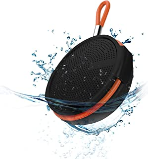 Merlin Aqautrax Portable Bluetooth Speaker Wireless Waterproof Speaker For Bathroom, Home & Travel With 5 Hour Playtime Po...