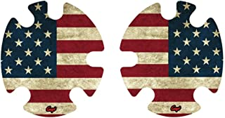 Geyi American Old Flag Wrestling Headgear Decals