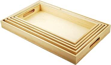 montessori wooden trays