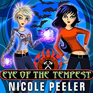 Eye of the Tempest     Jane True, Book 4              By:                                                                                                                                 Nicole Peeler                               Narrated by:                                                                                                                                 Khristine Hvam                      Length: 9 hrs and 40 mins     81 ratings     Overall 4.3