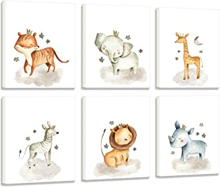 Best safari canvas wall art nursery Reviews