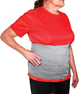 StrictlyStability 2XL Plus Size Bariatric Abdominal Binder | Hernia Support | Post Surgery Tummy & Waist Compression Wrap ...