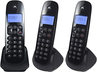 Telefone sem Fio + 2 Ramais MOTO700-MRD3 Preto Motorola