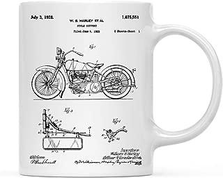 Planes, Trains, Automobiles Patent Print 11oz Coffee Mug Birthday Christmas Gift, Harley Davidson Model JD 1925 Canvas Art, Motorcycle Art, Harley Davidson Motorcycle