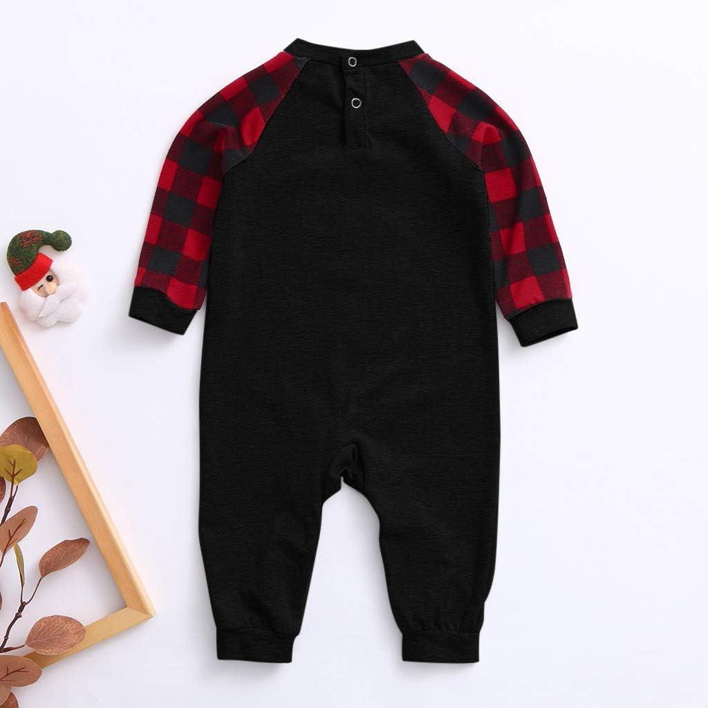 Matching Family Christmas Pajamas Set Boys Girls Holiday Pjs for Women Men Family Sleepwear