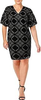 Lauren Ralph Lauren Plus Size Geo-Print Shift Dress