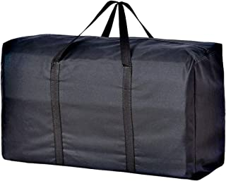 160 Liter Extra Large Storage Bag for Bedding Comforter King Pillows Blankets Clothes Waterproof College Carrying Bag with 2 Handles Zippered Travel Laundry Bag Foldable House Moving Bag Organizer