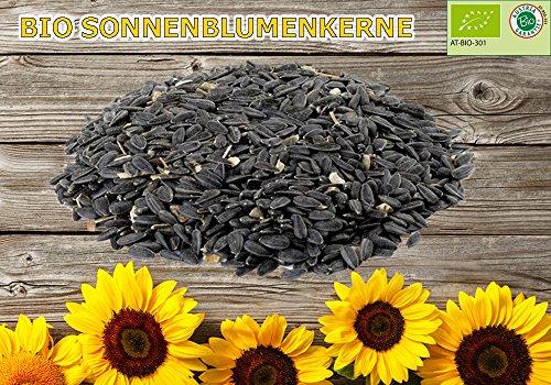 20 kg Bio Sonnenblumenkerne Wildvogelfutter Vogelfutter