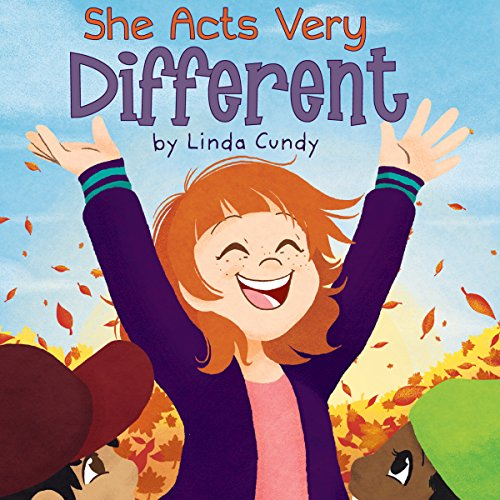 She Acts Very Different audiobook cover art