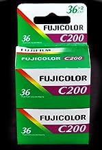 2 rodillos Fuji 35 mm, 200/36-Conf. 2 unidades-Protector-Ruedecilla-fotografía