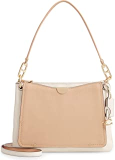 Coach Dreamer Colorblock Leather Shoulder Bag