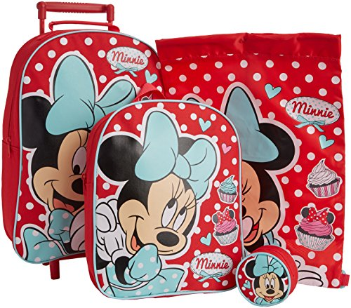 Disney Minnie Maus Gepäck-Set, gepunktet