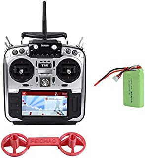 "JUMPER T16 Pro with Battery Hallジンバルオープンソースビルトインモジュールマルチプロトコル無線トランスミッターJP4-in-1 RF 2.4G 16CH 4.3 ""LCD 16 CH TX FFP Racing Drone (right throttle)"