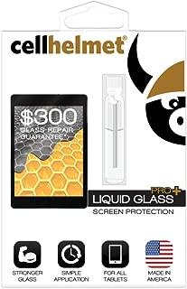 Cellhelmet Liquid Glass Pro+ Screen Protector for Tablets (300 Screen Repair Guarantee)