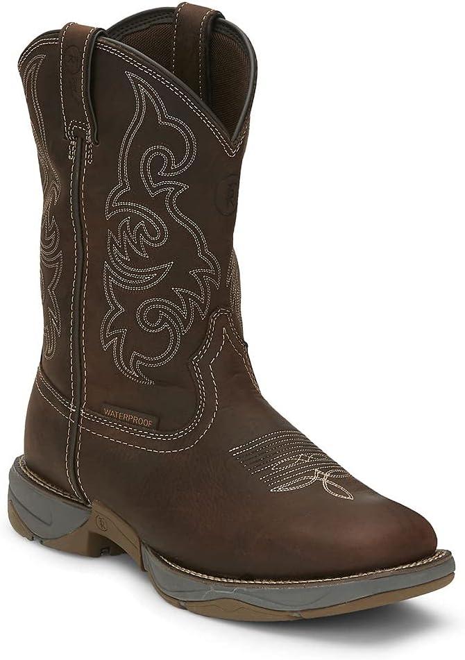Overseas parallel import regular item Tony Lama High order Men's Junction Boot Square Waterproof Toe